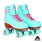 [page_title]-Apollo Classic-Roller, Discoroller, Rollschuhe für Kinder, Jugendliche und Erwachsene, größenverstellbare Quad-Skates, 3 Größen, verstellbar von 31 bis 42, Rollerskates