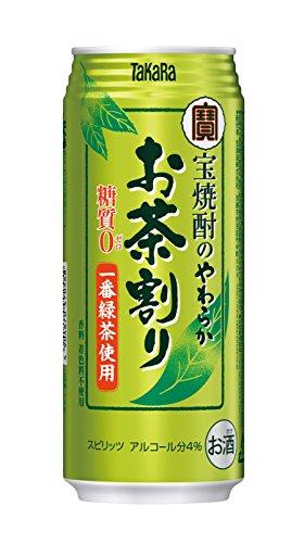 焼酎 緑茶 割り