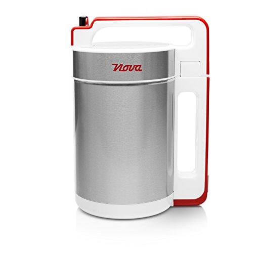 Nova 210310 - Licuadora y máquina para hacer sopa, batidos o salsas, capacidad 1.5 L, 200 W, acero inoxidable, 5 programas automáticos