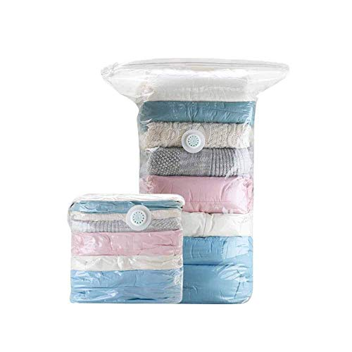 Vacuüm Compression Bag Storage Bag, Kleding Quilt sorteren Bag, Driedimensionale Packaging Vacuümzak, geen behoefte om te luchtverbruik van de pomp, 8 seconden opslag, eenvoudig te gebruiken (Kleur: C