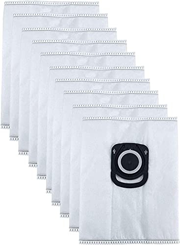 DNKKQ Filtración de Bolsa de Polvo para Rowenta ZR200720 Higiene y Cuidado de Animales antiolor 10 Piezas (Color: Blanco) Estabilidad (Color : White)