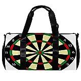 Bolsa de viaje para mujeres y hombres, tablero de dardos, deportes, gimnasio, bolsa de mano, fin de semana, bolsa de viaje al aire libre, bolsa de equipaje