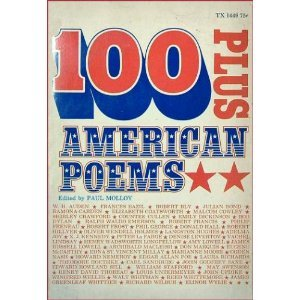 Paperback 100 Plus American Poems. Book