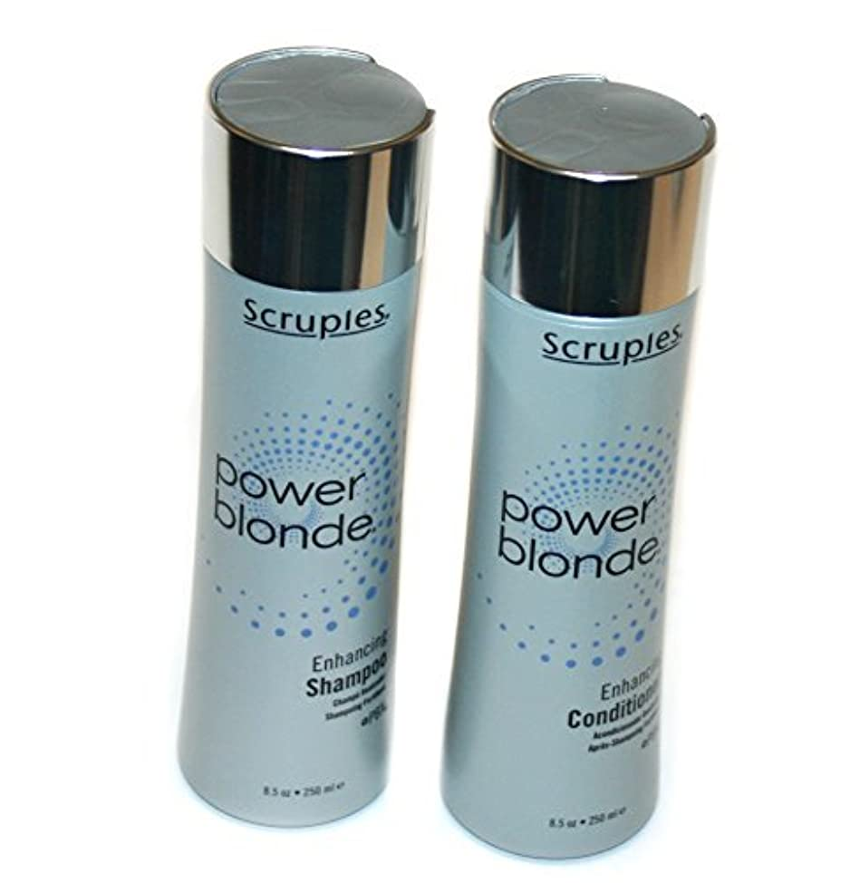 Scruples Power Blonde Enhancing Shampoo and Conditioner Set (8.5 fl oz each)