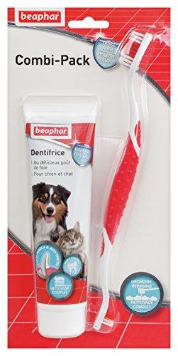 Beaphar - Pasta Dental para Perro (100 g) con Cepillo de Dientes