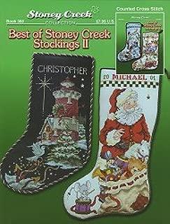 Best of Stoney Creek Stockings II (Book 388) Cross Stitch Chart and Free Embellishment