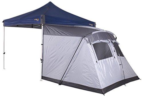 OZtrail Tienda Portico para Gazebo 3.0 para Cuatro Personas 240x240x300cm 4.8kg Gazebo Portico Tent 3.0 MPGO-TP30-A Carpa/CENADOR/Gazebo NO Incluido.