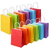 24 Pieces Kraft Paper Party Favor Gift Bags with...