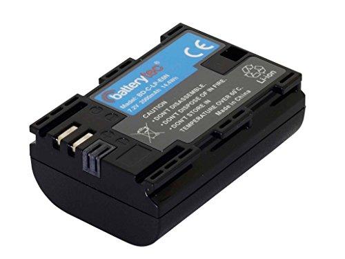 Batterytec® Batteria sostitutiva per Canon camera LP-E6N, EOS 5D Mark IV, 5D Mark II, EOS 5D Mark III, EOS 5DS, EOS 5DS R, 6D, 7D, 60D, EOS 80D, EOS 70D [7.4V,2040mAh, Li-ion, 12 mesi di garanzia]