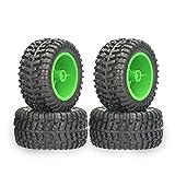 Zwbfu 110mm RC Coche Neumáticos 4pcs 12mm Hexagonal para 1/12 1/14 1/10 Rock Crawler RC Coche 12427 12429 12423 144001 124019 124018