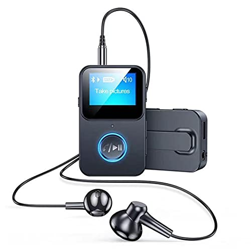 MP3 Player with Bluetooth, Portable Music Players for Kids/Aldult, Walkman Mini Reproductor De Musica, HiFi Lossless Sound, Camera Control Function, Runners Gifts (Includes Headphones)