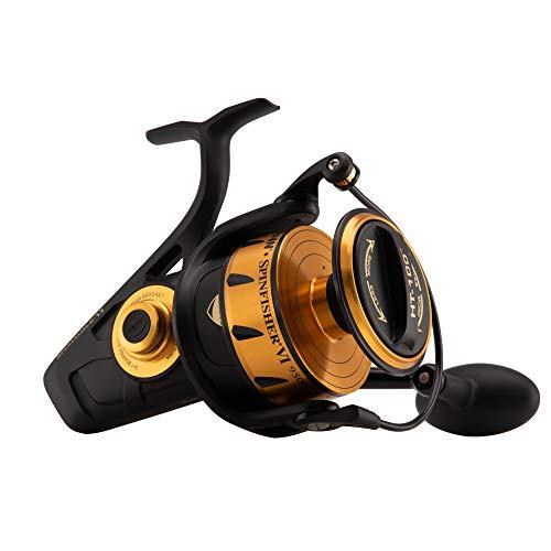 Penn Spinfisher V & VI Spinnrolle, Spingfisher VI, schwarz/goldfarben, 4500