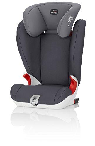 Britax Römer Kindersitz 3,5 - 12 Jahre I 15 - 36 kg I KIDFIX SL SICT Autositz Gruppe 2/3 I Storm Grey