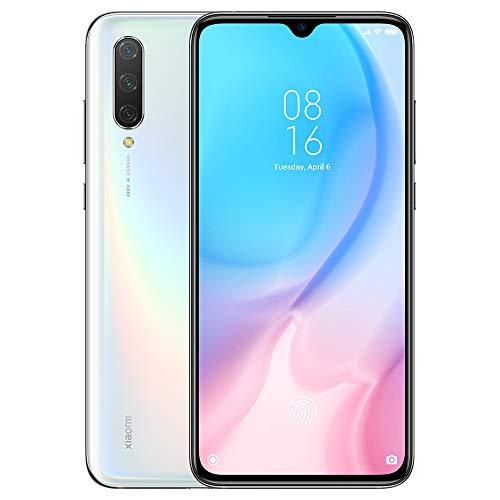 Xiaomi Mi 9 Lite Teléfono 6 GB di RAM + 128 GB di ROM, display Dot Drop da 6,39 , Processore Octa-Core Snapdragon 710 Versione Globale (Bianco)