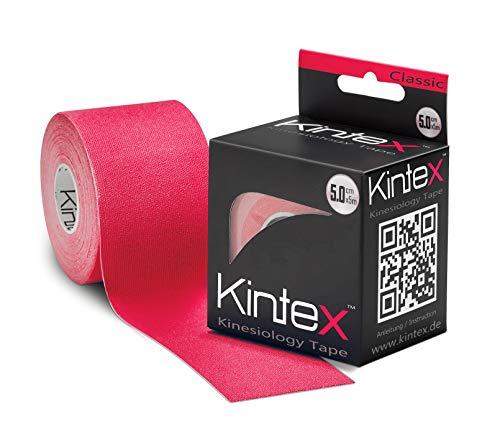 Kintex 0 Kinesiologie Tape Classic Rot 5cm x 5m, 5cm x 5cm
