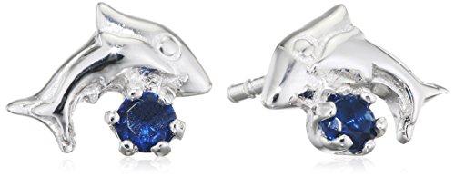 Bijoux pour Tous 1900350BF - Pendientes para mujer, plata 925 y óxido de circonio