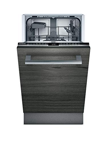 Siemens SR63HX64KE iQ300 Vollintegrierter Geschirrspüler / E / 70 kWh / 9 MGD / Smart Home kompatibel via Home Connect / Hygiene Plus Programm / varioSpeed Plus