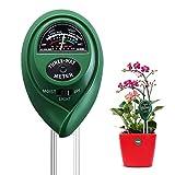BoloShine Testeur de Sol, 3 en 1 Humidimètre de Sol Testeur de Mesure L'acidité de...