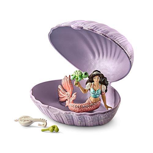 Schleich 70562 bayala Spielset - Meerjungfrau mit Baby-Schildkröte in Muschel, Spielzeug ab 5 Jahren