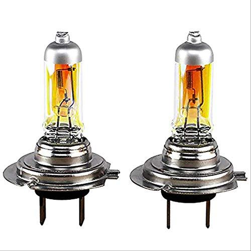 PMWLKJ 2 Stück Auto Super Bright H7 Xenon Halogen Frontscheinwerfer Glühbirnen Lampe 12V