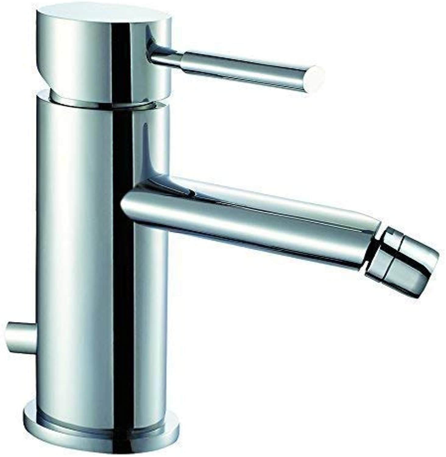 Luxury Bidet Mixer Tap with Pop Up Waste 2?Stai Oval 4?