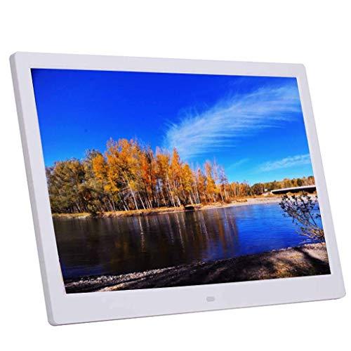 ZHTT Photo Frame da 14 Pollici Digitale 1280×800 ad Alta Definizione elettronico Decorativo a Parete Macchina pubblicitaria Elettronica ad Alta risoluzione - Supporta più Formati Decora i Regali