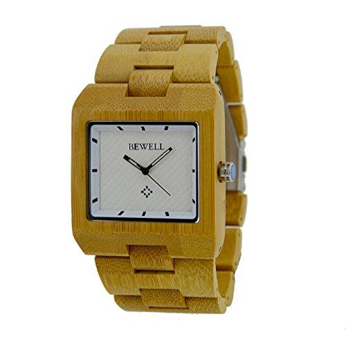 Bewell Madera Reloj BW de w016a5