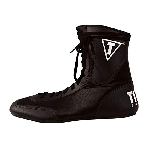 Title Boxing Speed-Flex Encore Mid Boxing Shoes, Black, 14