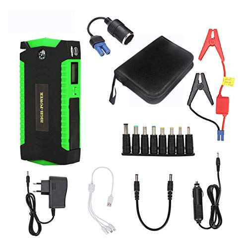 Best Review Of Super Power 16000mAh Starting Device 12V Car Jump Starter Power Bank Car Battery Boos...
