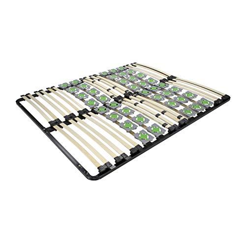 MOG Lattenrost 140x200 cm Lattenrahmen Tellerlattenrost Ergo IF55 - für alle Matratzen geeignet - alle Größen