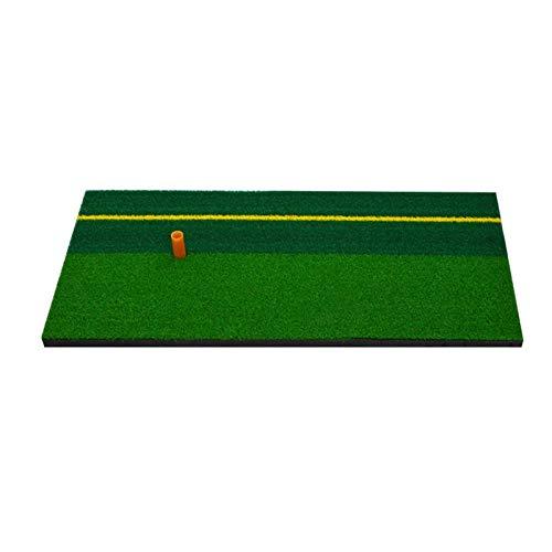 TARTIERY Golf Übungsmatte Golf Abschlagmatte Startrampe Kunstrasen Übungsmatte Golf Trainingshilfen Wohnpraxis Schlagmatte Golfzubehör