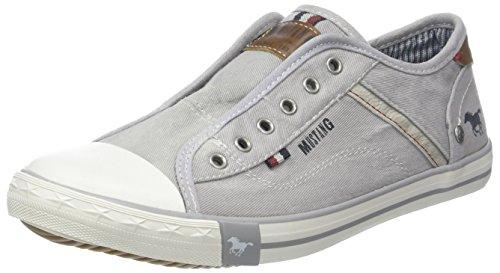 MUSTANG 5803-414 Slip On Sneaker, Grau (hellgrau 22), 38 EU