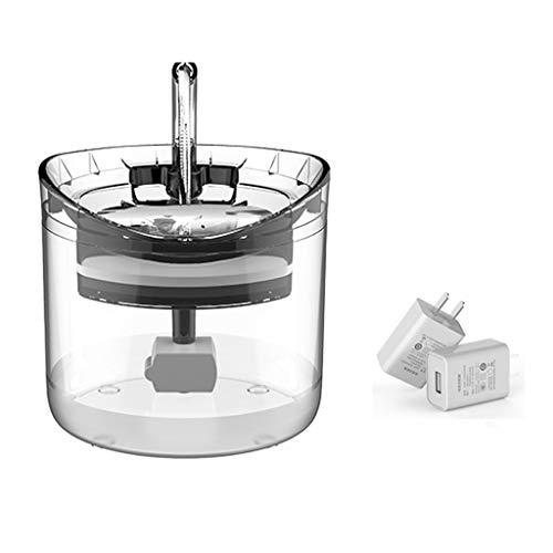 Hbao Dispensador de Gatitos, Fuente de Agua para Gatos, dispensador silencioso Transparente, bebederos, Cuenco para Beber, alimentador automático, dispensador con Sensor (Color : Standard Kit)