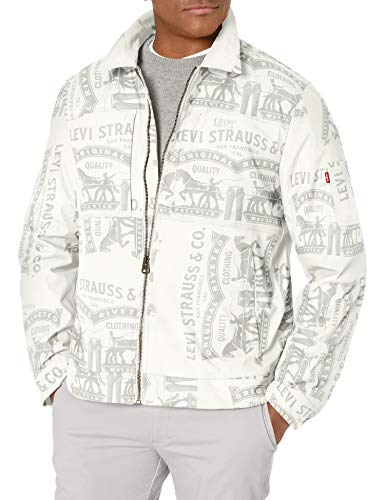 Levi's Men's Lightweight Mechanic Jacket, Print, Small