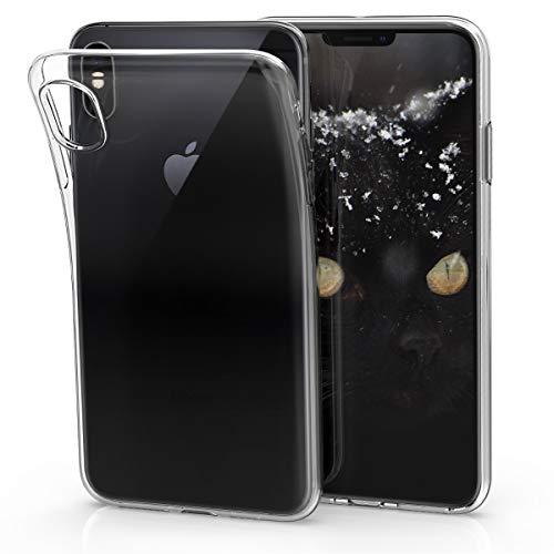 Preisvergleich Produktbild kwmobile Apple iPhone XS Max Hülle - Handyhülle für Apple iPhone XS Max - Handy Case in Transparent