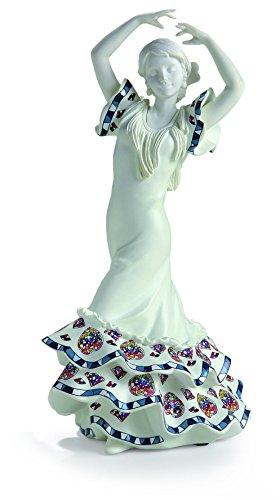 Nadal Figura Decorativa sevillana, Resina, Multicolor, 9.00x10.40x20.00 cm