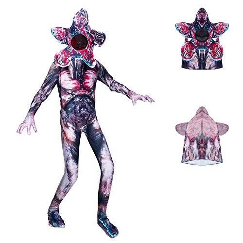 Baige Kinder Jumpsuit Spielkleidung Pyjama Cosplay Mädchen Jungen Halloween Show Festung Nacht Cosplay Kostüm große Kinder Cos Kleidung