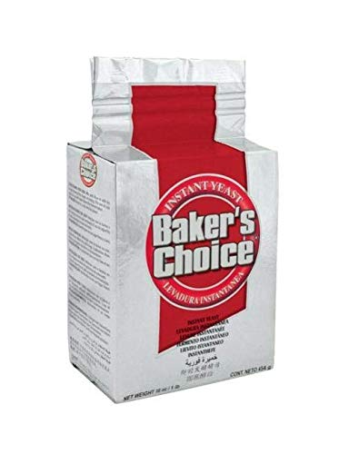 of yeast for baking 1 lbs Bakers Choice Red Yeast 1lb (1)