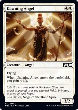 Magic: The Gathering - Dawning Angel - Foil - Core Set 2020