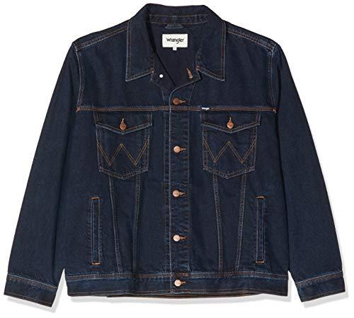 Wrangler Herren Jeans Jake W41001705 AUTH WESTERN JACKET, Gr. XX-Large, Blau