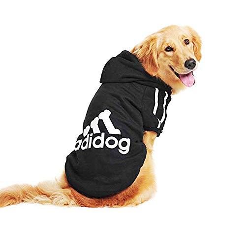 TVMALL Big Dog Hoodie Winter Warme Mäntel Pet Pullover Kleidung für Kaltes Wetter Mode Jacke Hund Weste Adidog Mantel Winddicht Große Extra große Hund Kleidung 3XL-8XL