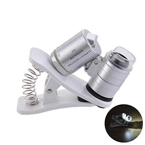 Clip-On Type Loupe Microscope 60X Zoom Jewels Magnifier Universal Micro Lens Jewelry Magnifying Glas - http://coolthings.us