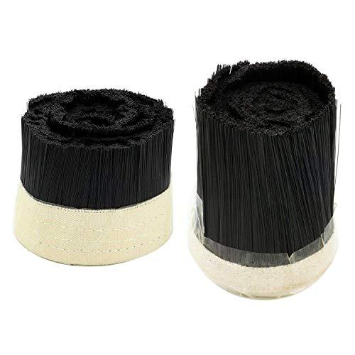CENPEN 2pcs Brush Vacuum Cleaner colector de Polvo máquina de Grabado for CNC Router husillo del Motor (70 mm y 100 mm)