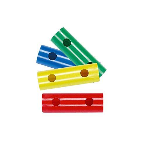 Moveandstic 4 er Set 15 cm Rohr blau,grün,gelb,rot