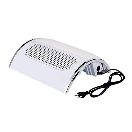 Aspirateur Manucure Aspirateur de bureau à trois ventilateurs à haute puissance, oreiller pour dessiccateur à main à haute puissance, à double usage, avec sac de poussière 110v / 220v