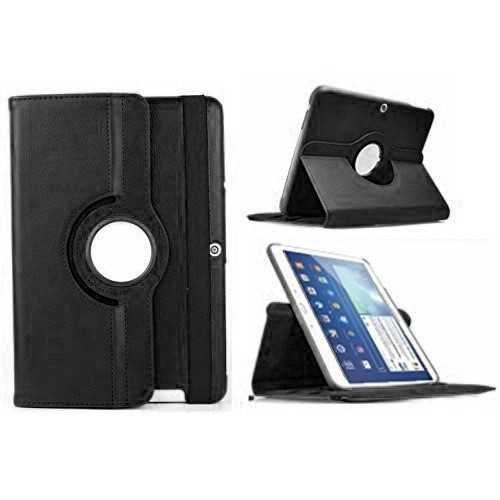 Funda Tablet Compatible con BQ Edison 3 Quad Core 10.1 360º giratoria Negra