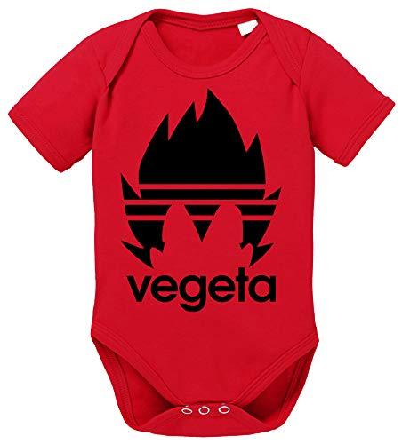 Tee Kiki Adi Vegeta Body Dragon de algodón orgánico Ball Son Proverbs Baby Romper para niños y niñas de 0a12