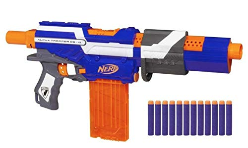 NERF N-Strike Exclusive Elite Alpha Trooper CS-12