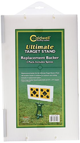 Caldwell Ultimate Target Stand with Compact Design for Shooting, Sighting in and Range Practice with Replacement Backers (Sold Separately)