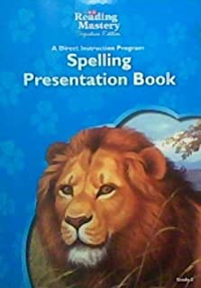 Spelling Presentation Book, Grade 3 (SRA Reading Mastery, Signature Edition)